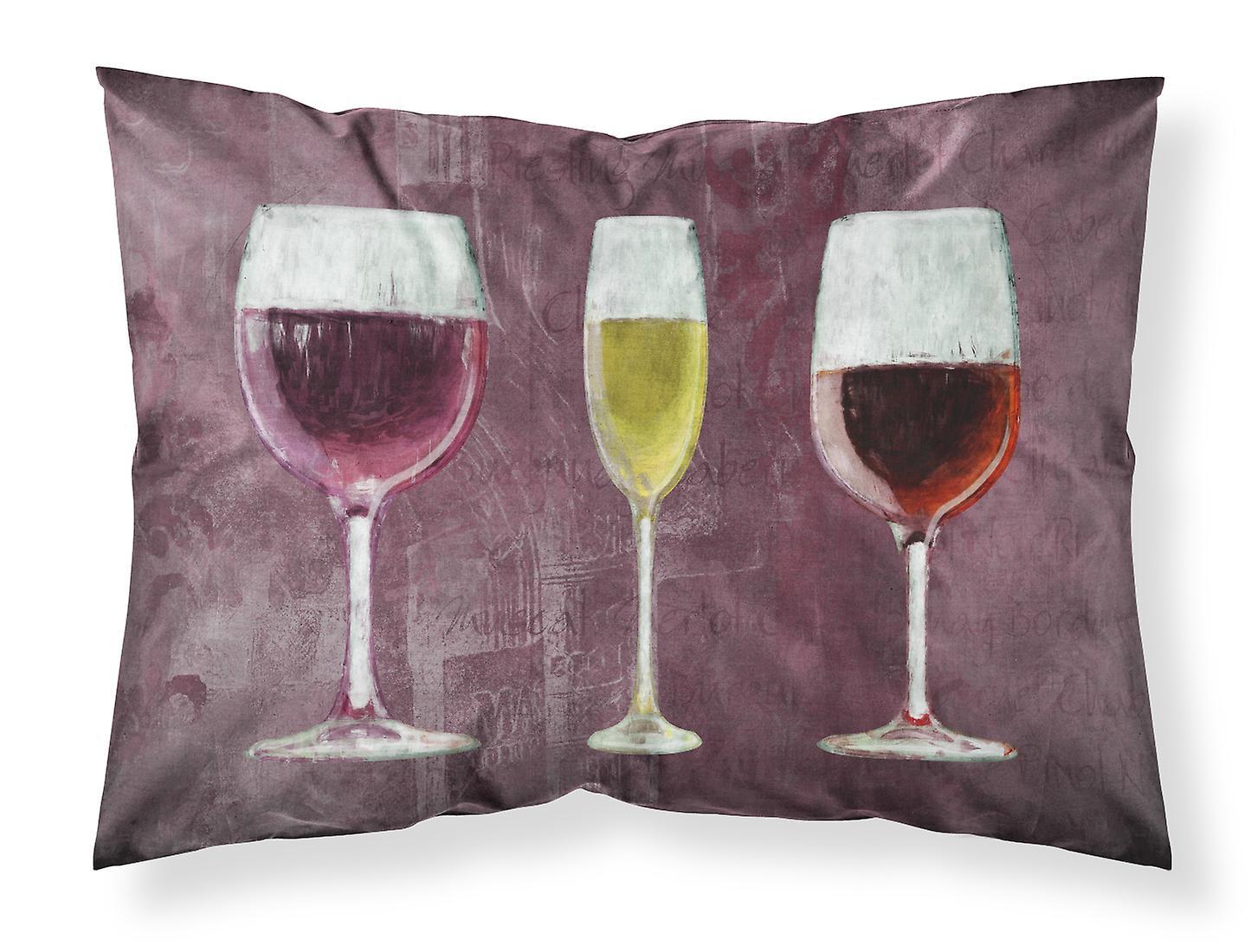 Trois Humidité De Tissu Taie Standard Pourpre D'oreiller Vin Wicking Verres WEHYeb29ID