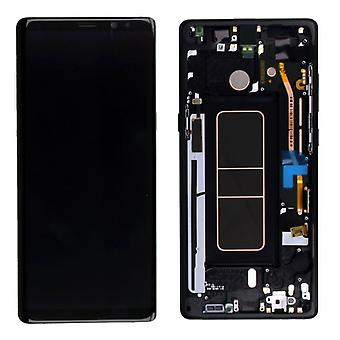 Crystal Display, LCD complete set GH97 21065A zwart voor Samsung Galaxy touch 8 N950 N950F