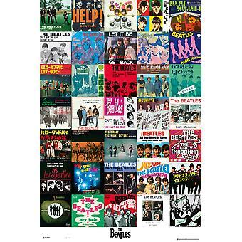 Beatles- Singles Poster Poster Print