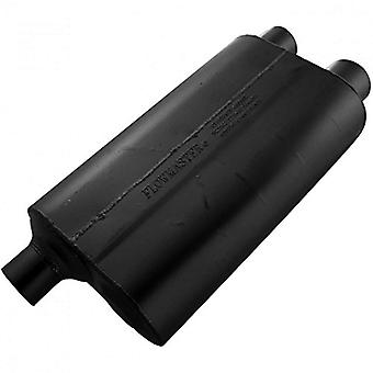 Flowmaster 53083 80 Series Muffler - 3.00 Offset IN / 2.50 Dual OUT - Aggressive Sound
