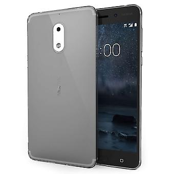 Nokia 6 Ultra Thin Gel Case Smoke Black