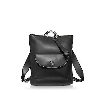 Alexander Wang women's 2048B0285L001 black leather backpack
