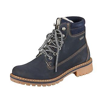 Tamaris Navy Leather 12624429827 universal  women shoes