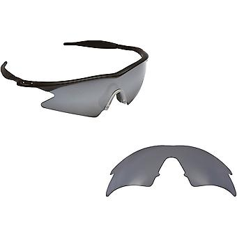 M Frame Sweep Replacement Lenses Silver Mirror by SEEK fits OAKLEY Sunglasses