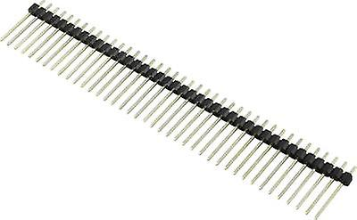 Pin strip (standard) No. of rows: 1 Pins per row: 10 Connfly 1390100 1 pc(s)