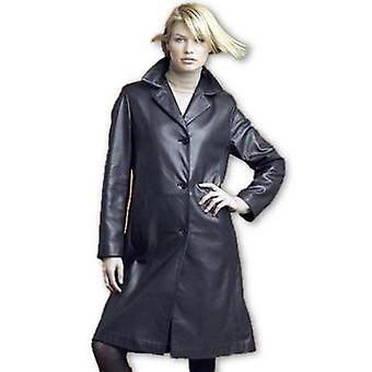 Ladies Stylish 3 Button Trench Coat