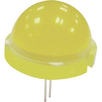 LED wired Red Circular 20 mm 380.25 mcd