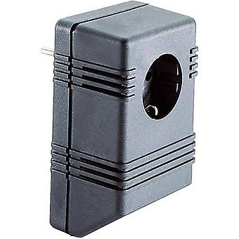 Connector housing 126 x 75 x 53 Plastic Black Strapubox