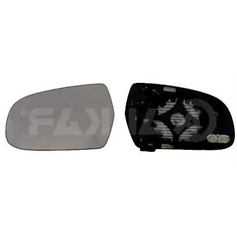 Left Mirror Glass (heated) & Holder For AUDI A4 2010-2015