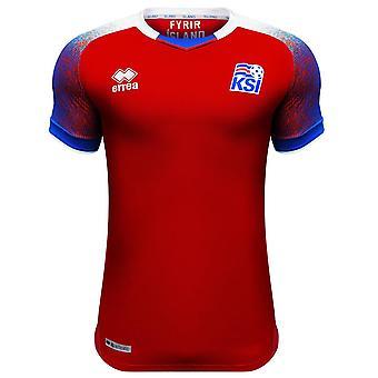 2018-2019 Iceland Third Errea Football Shirt (Kids)