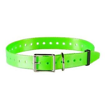 Num'axes Polyurethane Strap - Green Fluo (Dogs , Collars, Leads and Harnesses , Leads)