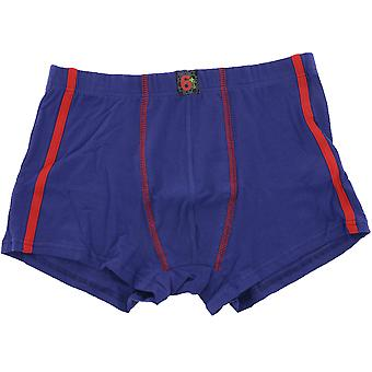 Young Boxer shorts kids natural cotton blue