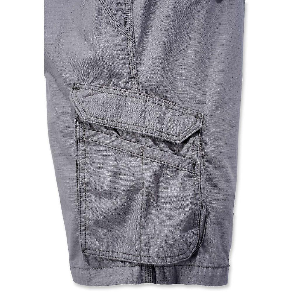 b99f57b0c0 Carhartt Mens Force Tappen Fast Dry Moisture Wicking Cargo Shorts ...