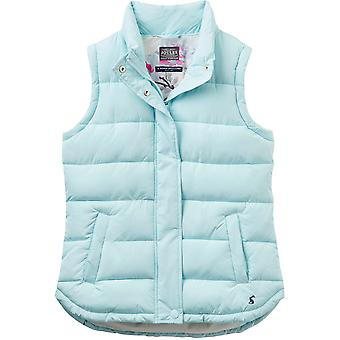 Joules Womens/Ladies Eastleigh Chevron Padded Casual Chunky Zip Gilet Bodywarmer