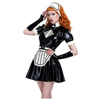 Westward bunden Missy piga latexgummi Uniform.