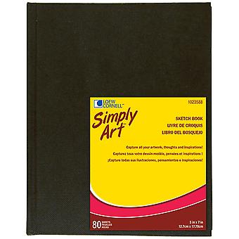 Simply Art Archival Sketchbook 80 Sheets 5 1 4