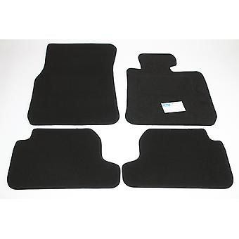 Fully Tailored Car Floor Mats - BMW 2 Series F22 Coupe 2014-2018 Black