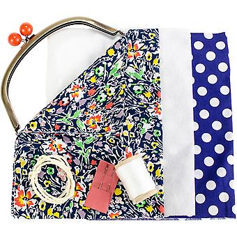 The Makery Make Your Own Clasp Purse Craft Kit-Includes Fabric & Clasp