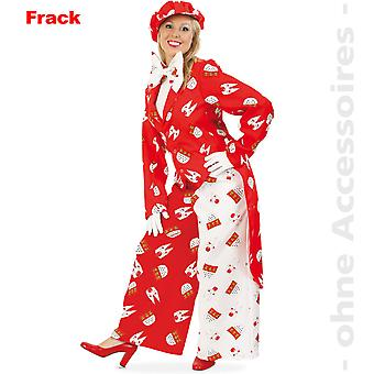 Cologne tails fan unisex costume