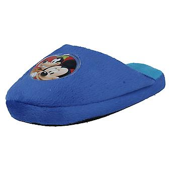 Boys Disney Mickey Mouse Slippers WD8124