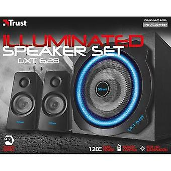 2.1 altavoces PC con cable Trust GXT 628 Tytan 2.1 LED