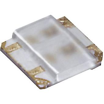 ROHM Semiconductor SML-P24MUWT86M SMD LED (multi-colour) 0404 Green, Red 21 mcd, 52 mcd 50 ° 20 mA 2.2 V, 2.1 V