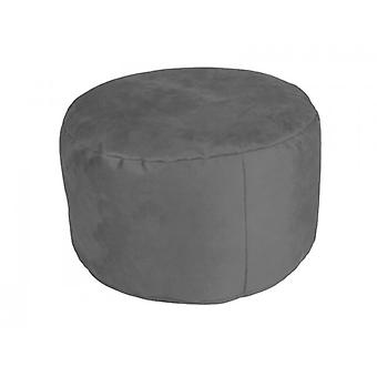 Seat cushion seat stool pouf Alka anthracite large 34 x 47 x 47 with filling