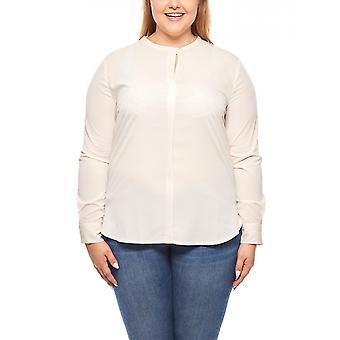Ladies long blouse plus size of pink travel Couture