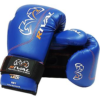 Rival Boxing RB1 Hook and Loop Ultra Bag Gloves - Navy