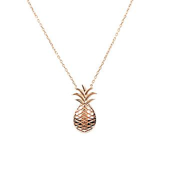 Pineapple Fruit Necklace rosegold