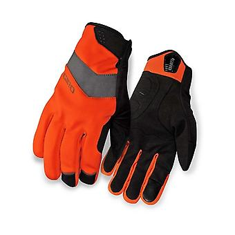 Giro Glowing Red 2016 Ambient Soft Shell Cycling Gloves