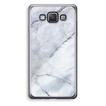 Samsung Galaxy A5 (2015) Transparent Case (Soft) - Marble white