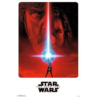 Star Wars The Last Jedi - Teaser Poster Print