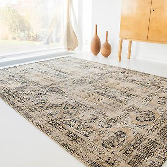 Louis De Poortere Antique Hadschlu Rugs 8720 In Agha Old Gold