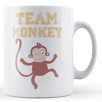 Team Monkey - Printed Mug