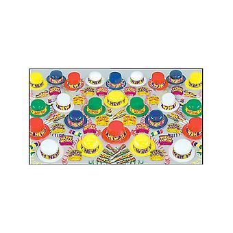 Colourama nyårsafton Pack för 100 personer