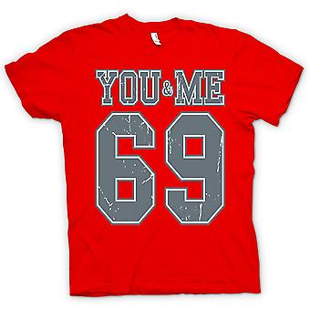 Kids T-shirt - You And Me 69 - College Football - Funny
