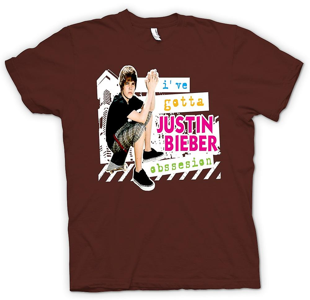 Mens T-shirt - Justin Bieber Obsession