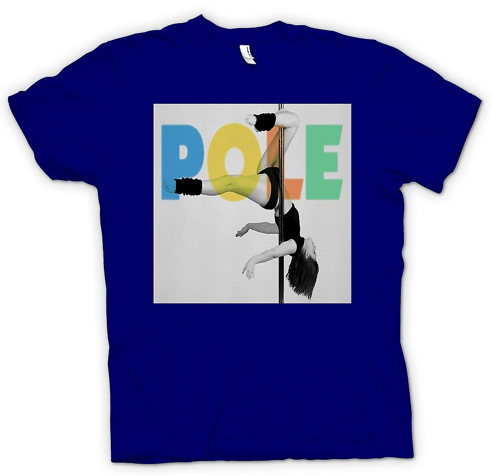 Mens T-shirt - Pole - Pole Dancing - Cool