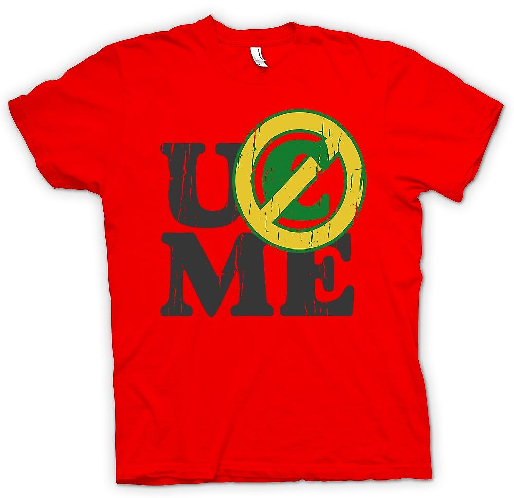 Mens T-shirt - UCME - You Don�t See Me - Funny