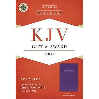 KJV GIFT AWARD PURPLE LEATHERLIKE (Bible Kjv)