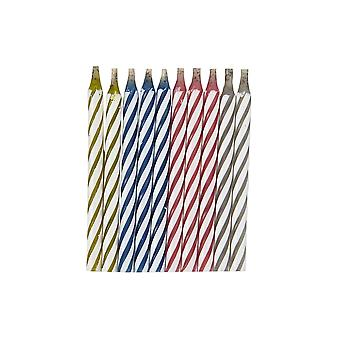 10 Magic Relighting Cake Candles for Birthday Parties   Party Candles