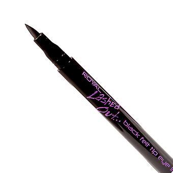 Royal Lashed Out Black Felt Tip Eye Liner Pen