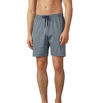 Mey Men 19050-188 Men's Lounge Ciel Grey Pyjama Short