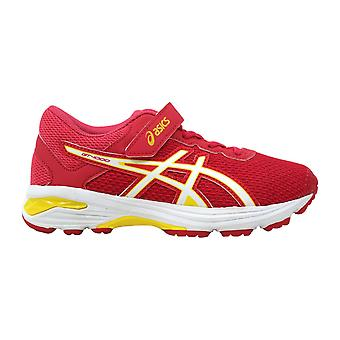 Asics GT 1000 6 PS Rouge Red/White-Vibrant Yellow C741N 1901 Pre-School