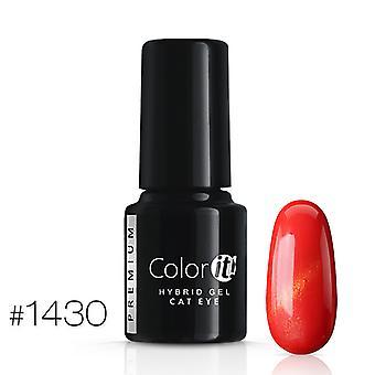 Gel Polish-kleur het Premium-Cat Eye-* 1430 UV gel/LED