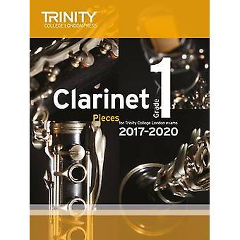 Clarinet Exam Pieces Grade 1 2017 2020 (Score & Part) - 9780857365439