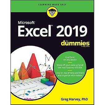 Excel 2019 For Dummies by Excel 2019 For Dummies - 9781119513322 Book