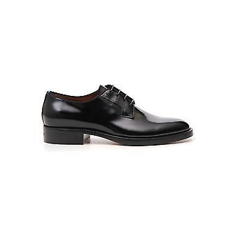 Givenchy sort læder Lace-up sko