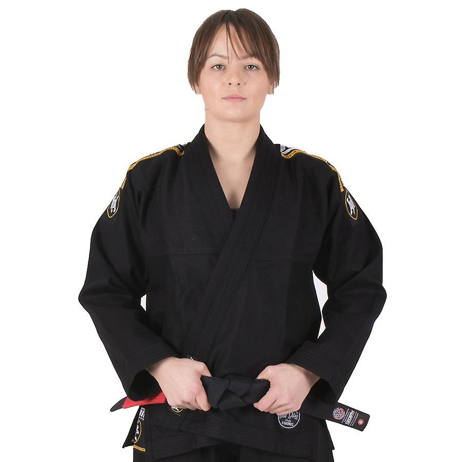 Tatamis Fightwear Nova Mesdames absolues BJJ Gi noir